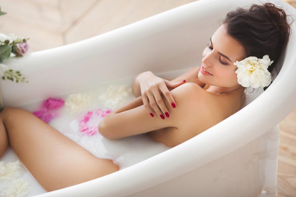 Ziegenbutter Milchbad, Natürliche Pflege für empfindliche Haut. Kurland Naturkosmetik aus Bayern