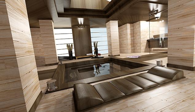 Modernes und funktionales Spa-Design: Unterstützung bei der Materialauswahl