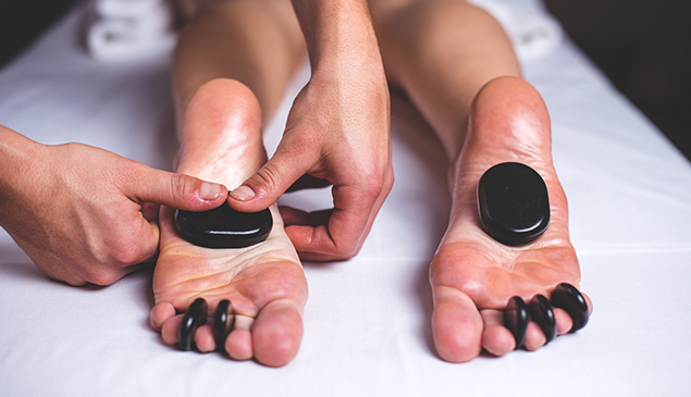 Kurland Hot Stone Massage
